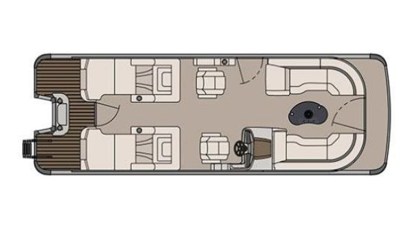 Avalon Catalina Platinum Rear Lounge - 25 ft.