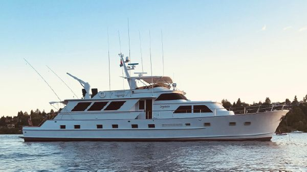 Broward Pilothouse Motoryacht