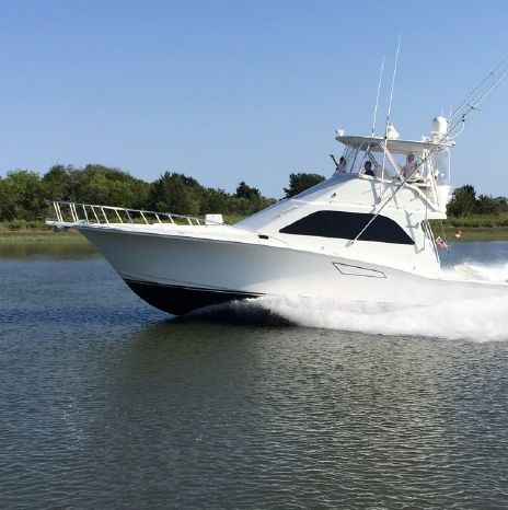 2002 Cabo 47 Flybridge Sportfish Convertible