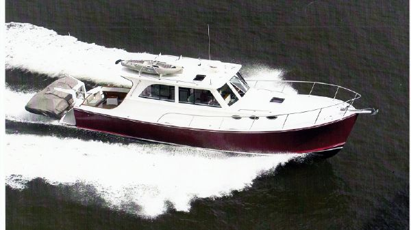 Mast & Mallet 40 Thomas Point Hardtop Cruiser