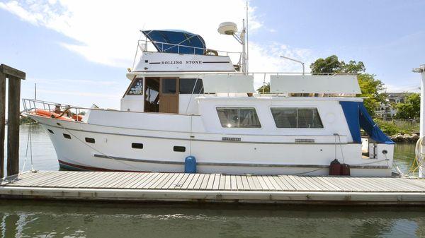 Marine Trader 48 Port Side