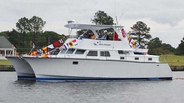 Custom B&B Yacht Designs, LLC Catamaran