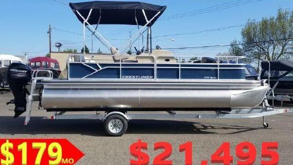 Crestliner 200 Sprint Fish & Cruise
