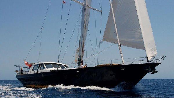 Culham Custom Sailing Yacht A Noble Bow