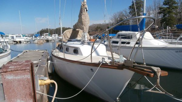 Cape Dory 28 Starboard View @ Dock