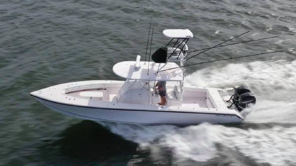 Island Runner 35 CC Flat Deck
