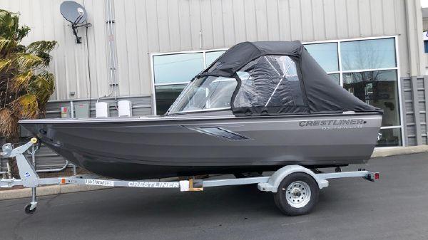 Crestliner 1650 Fish Hawk SE WT B3263