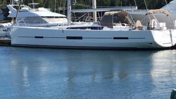 Dufour 560GL At the dock