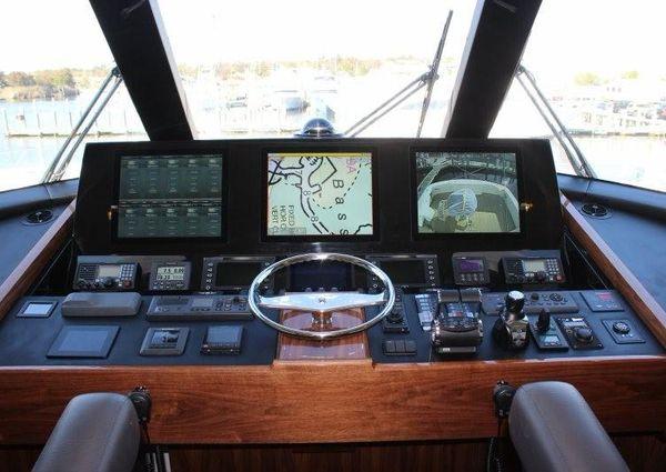 Viking 72 Enclosed Bridge image