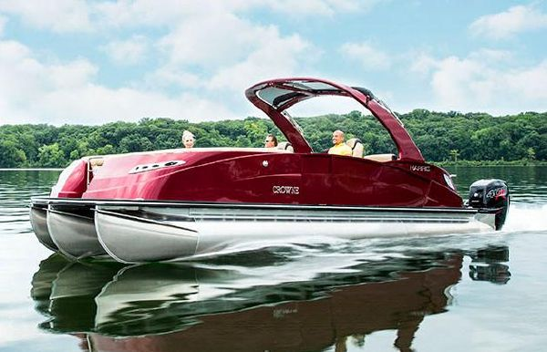 2019 Harris Crowne SL 270 Twin Engine