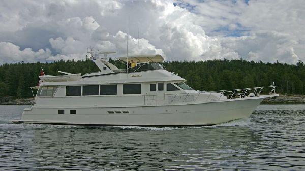 Hatteras 74 Sport Deck Motor Yacht