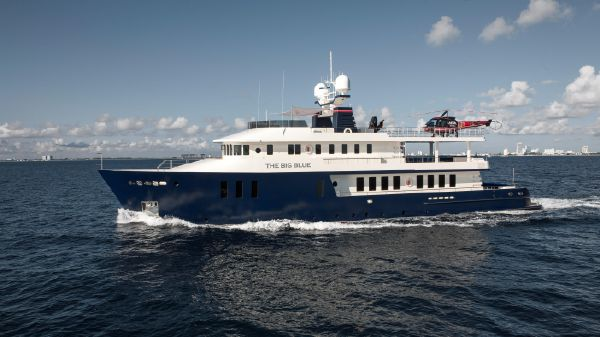 Troy Marine Expedition Yacht