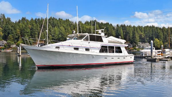Custom Vic Franck 53 Pilothouse