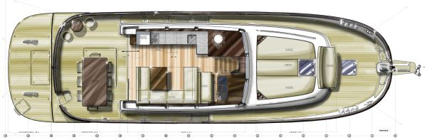 Sasga Yachts Menorquin 54 Flybridge image