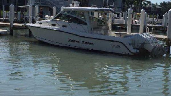 Boston Whaler 345 Conquest Port Side