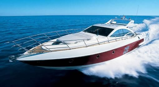 Azimut 68S Manufacturer Provided Image: Azimut 68S Open