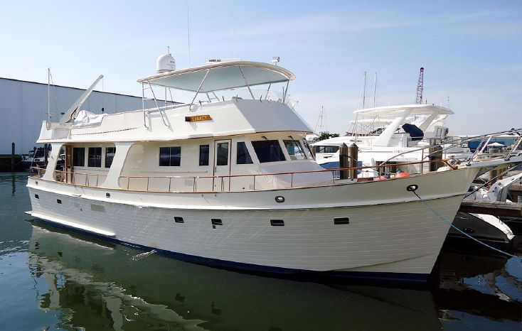 1990 Grand Banks 58' CLASSIC