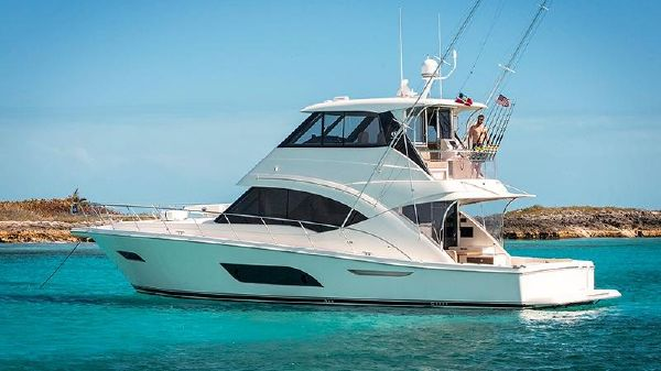 Riviera 57 Enclosed Flybridge- AVAILABLE NOW! Riviera 57 Enclosed Flybridge