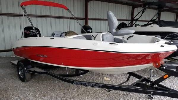 Stingray 182SC FISH-n-SKI Side Console