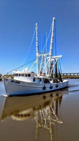 1981 St. Augustine Shrimp Trawler