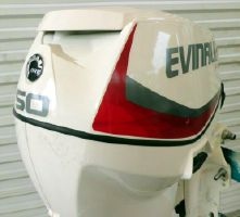 Evinrude  E-TEC 50hp 20 inch Shaft  Direct Injected