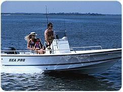 Sea Pro SV1900CC Bay Boat Manufacturer Provided Image