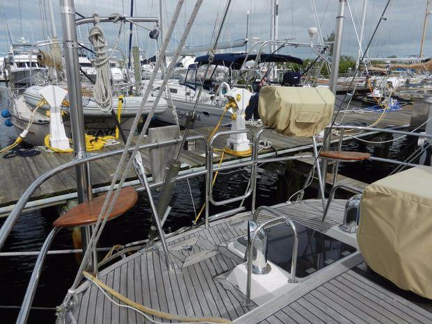 2003 Tayana Deck Salon BoatsalesListing New England