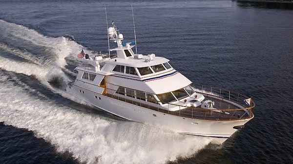 Stephens Custom Hargrave-Anderson Motoryacht SCAPHA Underway!