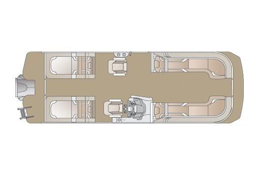 2020 Crest Caribbean LX 250 SLRC