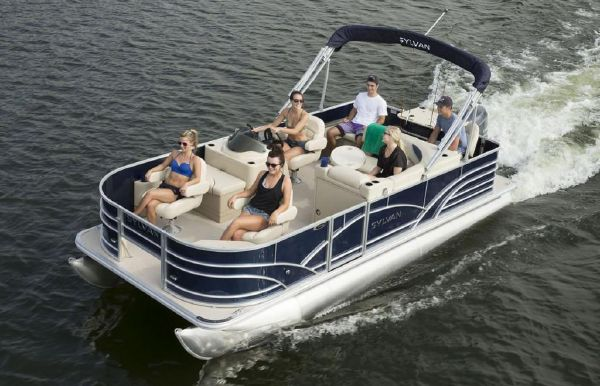 2019 Sylvan Mirage Fish 8520 4-PT