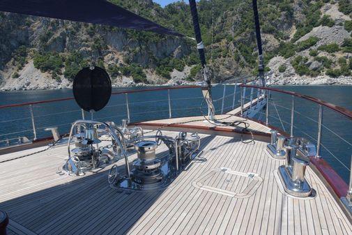 Custom steel hull motor sailor gullet image