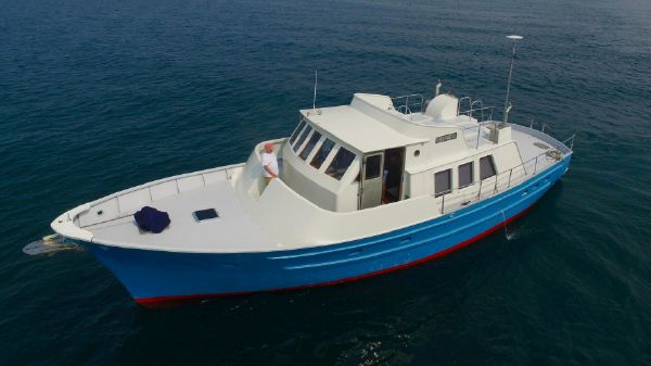 Seaton Pilothouse trawler