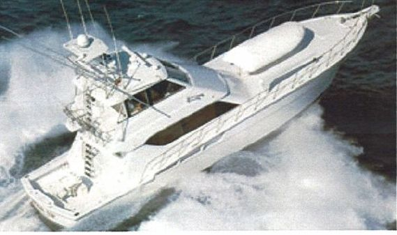 Hatteras Enclosed Bridge Convertible 1999 image