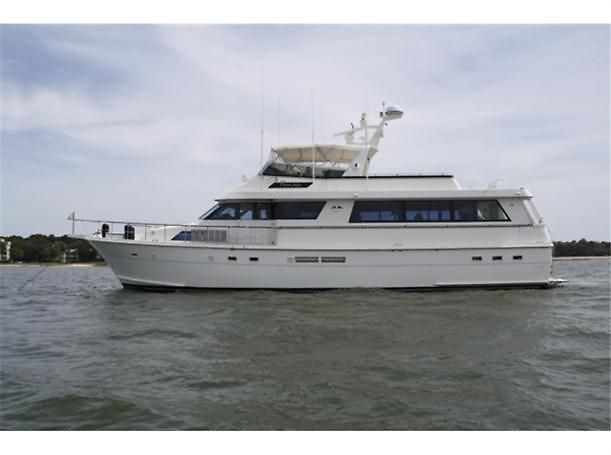 1989 Hatteras Extended Deck
