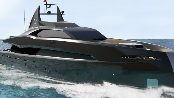 Icon Yachts The Gotham Project