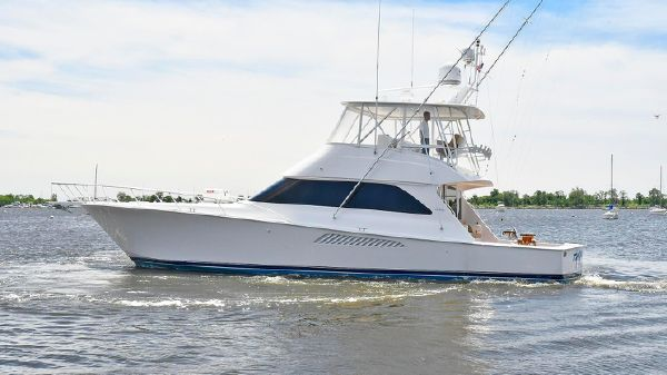 Viking 54 Convertible Port Side