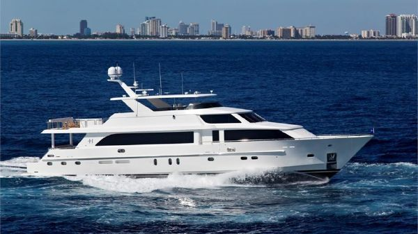 Hargrave Raised Pilothouse 114' Hargrave Raised Pilothouse Motor Yacht DONNA MARIE