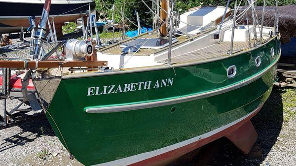 Yarmouth 23 Gaff Rig Topsail Cutter