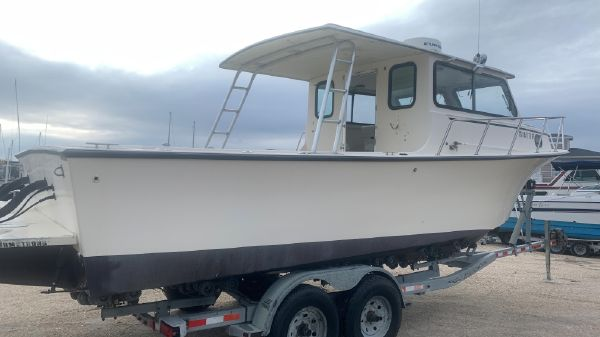 May-Craft 2700 Pilothouse Cabin