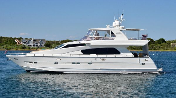 Horizon 70 Motor Yacht Port Side