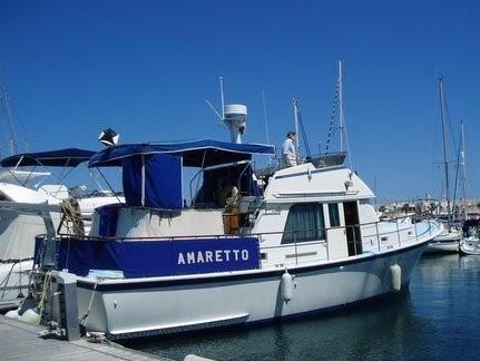 Hatteras 42 LRC Mk1