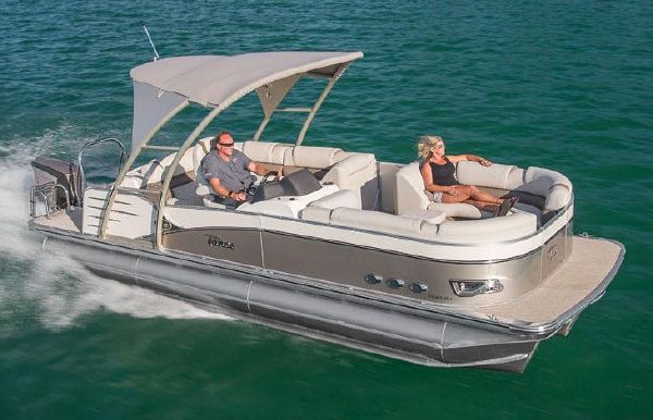 2019 Tahoe Pontoon Cascade Platinum Rear J Lounge - 27'