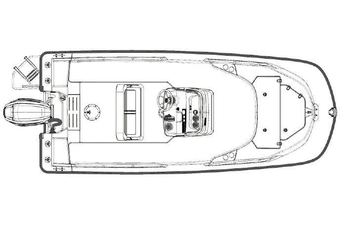 2018 Boston Whaler 170 Montauk Grosse Ile, Michigan