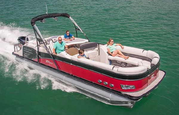 2019 Tahoe Pontoon Cascade Platinum Entertainer - 25'
