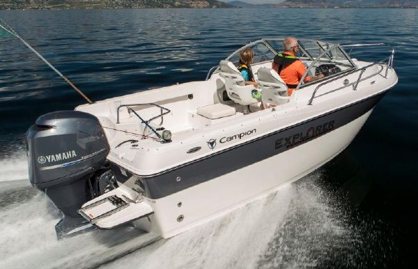 2018 Campion Explorer 542 Sport Cabin