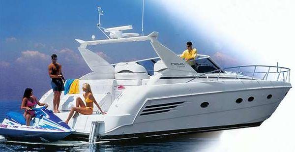 Trojan Express yacht