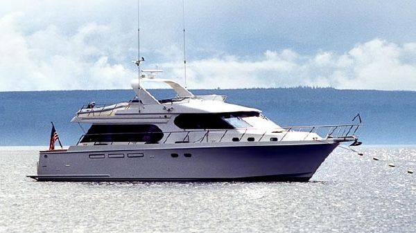 Ocean Alexander Stabilized 610 Pilothouse 610 Ocean Alexander Pilothouse - Exterior Profile