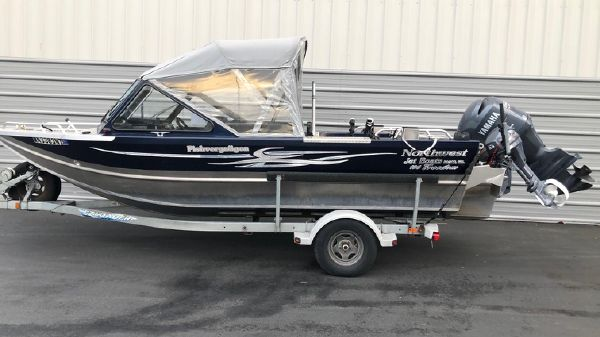 Northwest Boats 196 Freedom Jet Boat B3271U