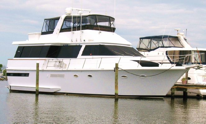 Viking 55 Motor Yacht Widebody - main image
