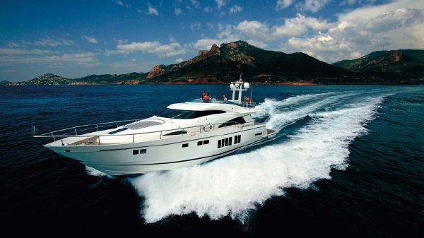 Fairline Squadron 78 Custom Manufacturer Provided Image: Fairline Squadron 78 Custom Running Shot